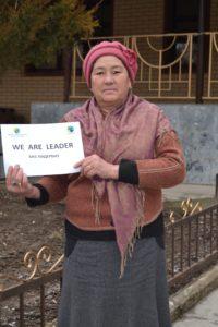 Mirzaayim Mamatalieva - farmářka - Kyrgyzstan