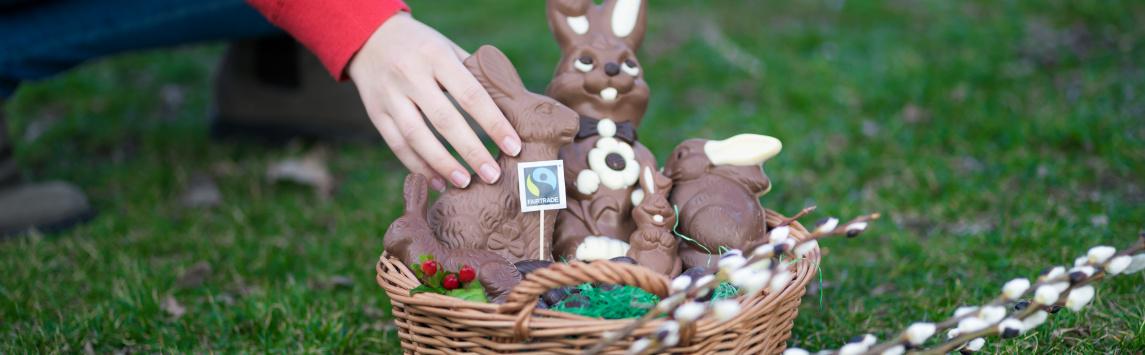 Před Velikonocemi rostou prodeje čokolády, té s certifikací Fairtrade se v ČR prodává rok od roku více