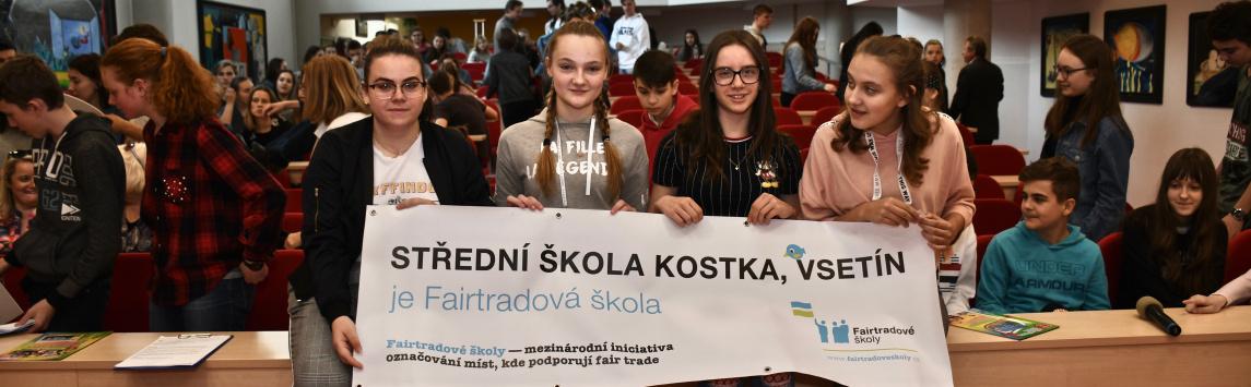 Čtvrtou Fairtradovou školou ve Vsetíně je SŠ Kostka