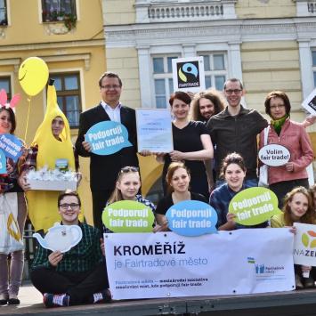 Fairtradová města a školy