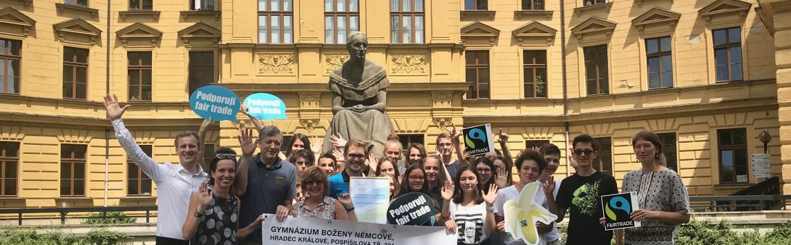 Hradecké Gymnázium Boženy Němcové je nově Fairtradovovu školou