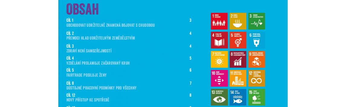 Fairtrade jako cesta k naplňování Cílů udržitelného rozvoje