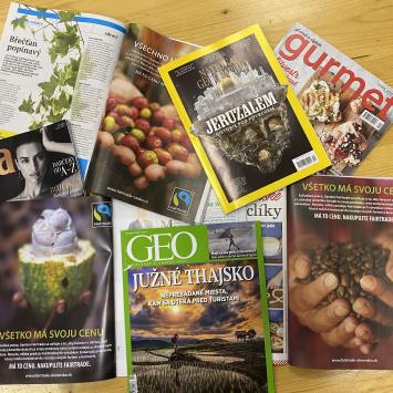 Fairtrade v médiách