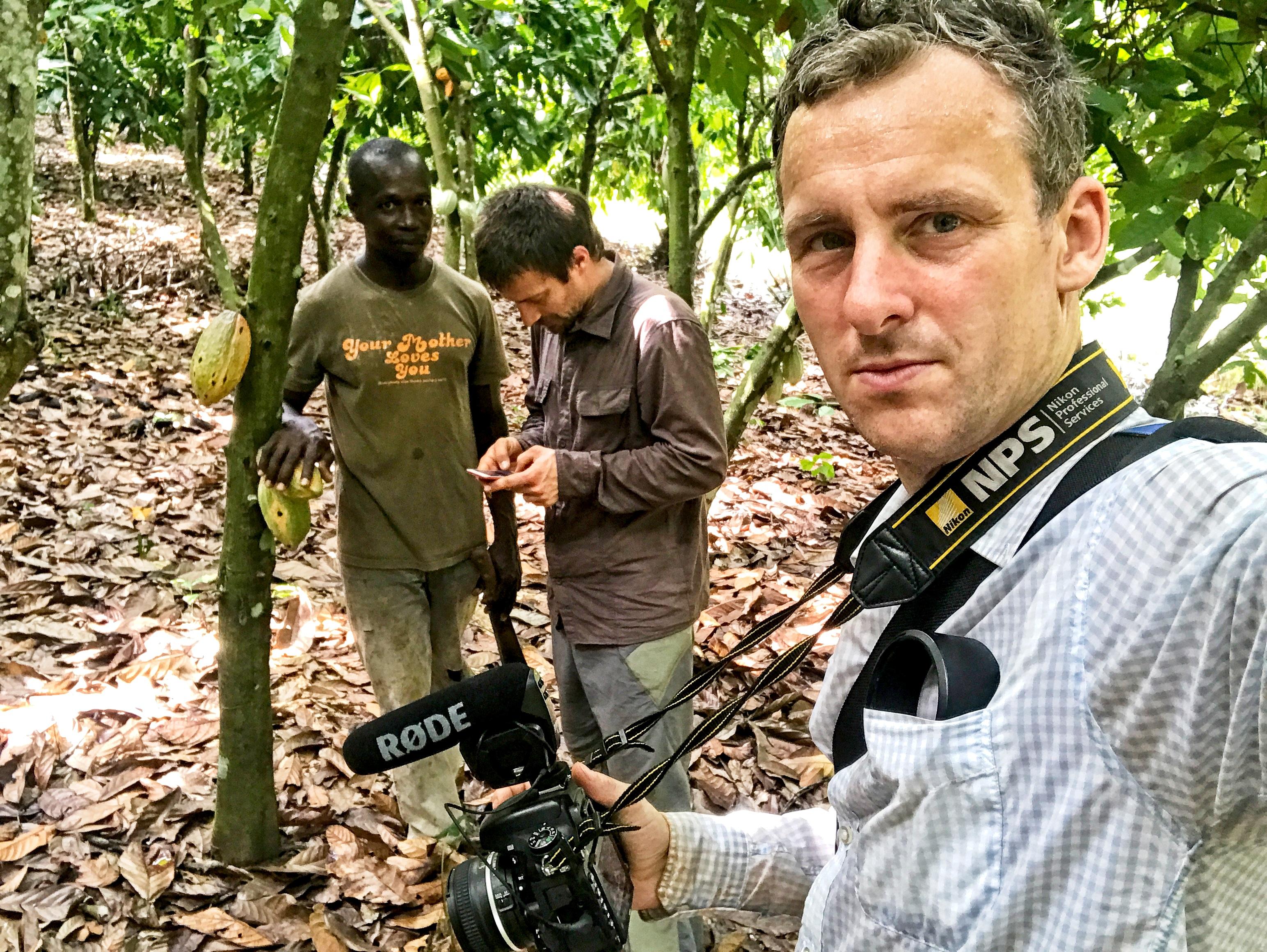 Dokumentace života pěstitelů kakaa