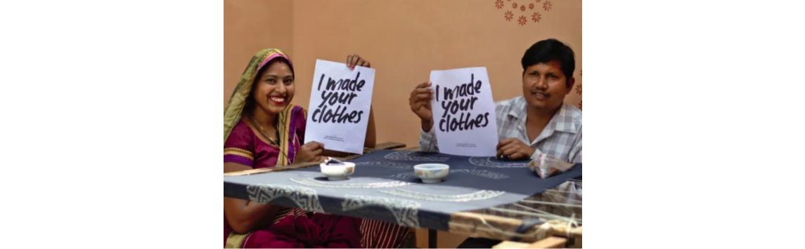 Kdo vyrobil moje oblečení? Odkud pochází oblečení v našich skříních?