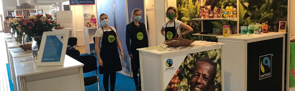 Festival Evolution a s ním i náš Miniveletrh fairtradových výrobků se letos uskutečnil v náhradním termínu 18. až 20. září
