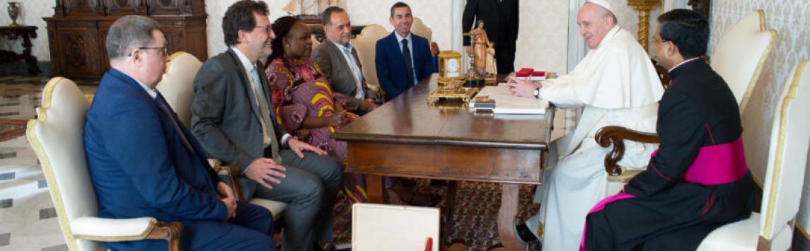 Papež František podporuje systém Fairtrade