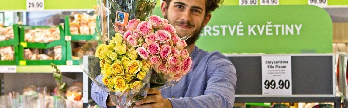 Rozšířili jsme sortiment fairtradového zboží v ČR o květiny
